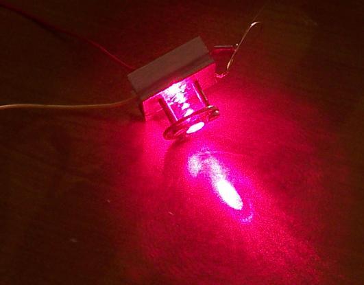 Podłączyć diodę laserową